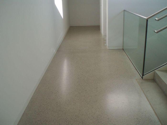 Geschliffener Polierter Beton Oder Estrichboden Designtrend Bozen